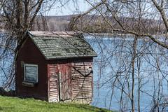 Lakeside Shack (Flapweb) Tags: st landscape albans lakechamplain