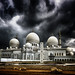 Sheik Zayed Mosque in the Storm