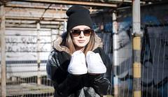 The Maxiemillion (Letizia Da Re) Tags: street woman sun white girl sunglasses set work 50mm nikon shoes day lips commercial 18 streetware d7000