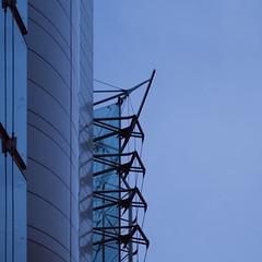 exoskeleton (Cosimo Matteini) Tags: blue building london architecture pen olympus exoskeleton moorgate cityoflondon m43 squaremile mft ep5 sheppardrobson cosimomatteini mzuiko45mmf18