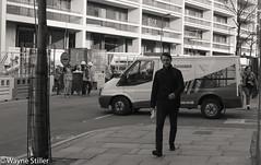 City Rubbish (Wayne Stiller) Tags: street people building london st site construction cross kings pancras