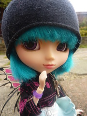 Odette (.PoisonedDeath.) Tags: wings doll pixie planning groove pullip grail jun odette papin rewigged
