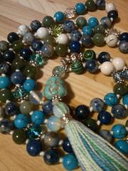 12301600_1567899346859772_3683826878119512152_n (innerjewelz@rogers.com) Tags: handmade traditional jewelry jewellery meditation custom mala 108 mantra intention knotted japamala innerjewelz