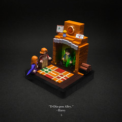 005 - Floo Powder (roΙΙi) Tags: harrypotter chamberofsecrets floopowder fireplace weasley carpet interior worsttransportationever hogwarts rowling bricks magic vignette