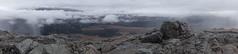 View from Aonach Mor, the eighth highest mountain in Britain. (mattgilmartin) Tags: mist mountain clouds scotland