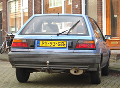 1986 Nissan Sunny 1.3 LX (rvandermaar) Tags: nissan sunny 1986 13 pulsar lx nissansunny n13 nissanpulsar sidecode4 nissansunnyn13 nissanpulsarn13 py93gb