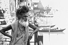 Benares (goa974) Tags: portrait india indian holy varanasi tamil ganga nadu saddhu benares 35mm18 d3100