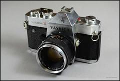 Yashica TL Electro X (02) (Hans Kerensky) Tags: lens 50mm display tl x electro yashica 117 yashinondx
