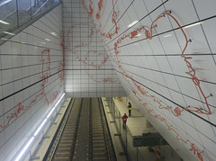 Underground Construction Site (Avia-Photo) Tags: architecture underground tube ubahn dusseldorf dsseldorf constructionsite duesseldorf