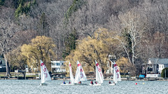 Sailing on Cayuga Lake in Early Spring (agladshtein) Tags: camera ny newyork sailboat spring sailing cny centralnewyork ithaca fingerlakes cayugalake 2016 tompkinscounty nikond800 nikkor200500