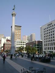 San Francisco - Union Square (Stabbur's Master) Tags: sanfrancisco memorial unionsquare spanishamericanwar urbanpark deweymonument