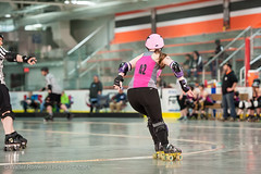 CNYRD_Wonder_Brawlers_vs_South_Shire_Battle_Cats_9_20160402 (Hispanic Attack) Tags: rollerderby battlecats srd cnyrd centralnewyorkrollerderby southshirerollerderby