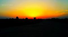Sunset in Khushab, Pakistan (zzqureshi) Tags: pakistan sunset khushab