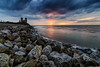 Reculver 14/04/2016 (Child of Rarn) Tags: sunset building history nature water buildings landscape coast countryside seaside parks reculver d7100 tokina111628