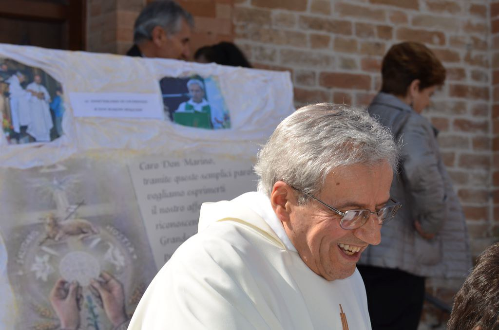 Doppia Festa Per Don Marino Mogliani Sacerdote Da 50 Anni