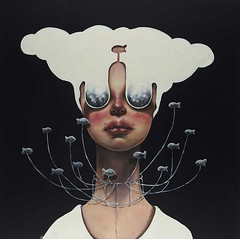 Surreal Portraits Of Women Painted By An Iranian Artist (jh.siesta) Tags: portraits women artist painted surreal iranian