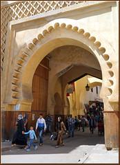 Bab Semmarine (mhobl) Tags: maroc fes babsemmarine