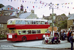 Eyam 1981 (The Great Innuendo) Tags: high district derbyshire peak tideswell chesterfield bakewell leyland eyam baslow atlantean hulleys