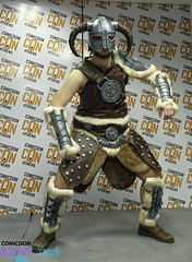 Comicdom Con Athens 2016: Dovahkiin from Skyrim (SpirosK photography) Tags: cosplay contest athens greece costumeplay cosplaycontest skyrim elderscrollsv comicdomcon dovahkiin spiroskphotography phoenixexmachina comicdomcon2016 comicdomconathens2016