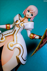 Estellise Sidos Heurassein (gwennan) Tags: anime color macro cute colors japan closeup toy figure alter figures pvc sidos jfigure talesofvesperia estellise estellisesidosheurassein heurassein