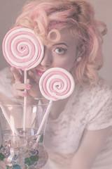 a beautiful dream series (DeboraDiDonato) Tags: pink flowers portrait white detail colors fashion project model dream fake surreal minimal concept minimalism conceptual ritratto concettuale modella
