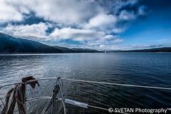 SAILING IN SIBERIA II (RUSSIANTEXAN) Tags: water river photography sailing russia yacht reservoir siberia sail 2012 krasnoyarsk anvar enisey russiantrip khodzhaev svetan