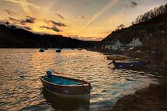 Tender Evening (garethleethomas) Tags: sea wales canon boats evening coast harbour pembrokeshire tender