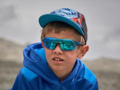 115mm_f6.3_IMGP0416 (Never Off) Tags: blue reflection hat sunglasses creek one pentax superman clear trail da capture phase selfie k3 f3556 18135