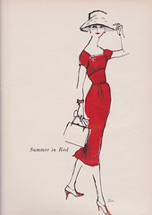 Mollie Parnus for Wamsutta 1956 (3) (moogirl2) Tags: retro vogue 50s 1956 vintageads vintagefashions wamsutta vintagevogue 50sfashions vintagefashionillustration mollieparnis
