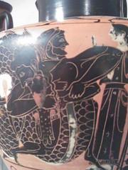 Fighting Triton (failing_angel) Tags: usa newyork greek manhattan 5thavenue attic metropolitanmuseumofart waterjar herakles polyxena troilos 290515 terracottahydria achillespursuingtroilos herakleswrestlingtriton