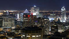 Montreal night. (CloudPhotoz) Tags: street city urban night landscape montral montreal paysage soir rue ville urbain