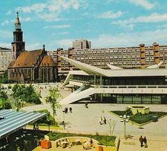 Berlin Googie (hmdavid) Tags: berlin architecture modern vintage germany postcard googie midcentury