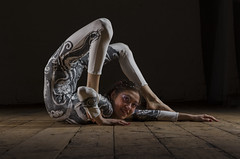 I'm not trying THAT! (Neil W2011) Tags: portrait studio nikon artist contortionist d7000