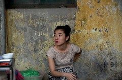 Woman in Hanoi (Rick Elkins) Tags: woman vietnam hanoi