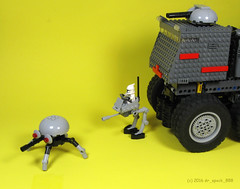 Itsy Bitsy Spider Droid (dr_spock_888) Tags: trooper star spider tank lego turbo wars clone droid juggernaut moc atrt