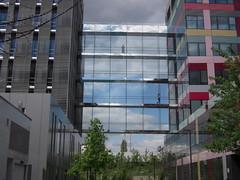 TRANSPARENCE (marsupilami92) Tags: paris france frankreich ledefrance ciel nuage 75 transparence vitre 19emearrondissement