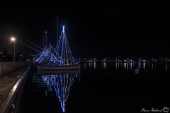 Capodanno ad Alghero (Coseallased) Tags: sardegna boat photo sardinia mining nightphoto woodenboat capodanno alghero alguer rivieradelcorallo capodannoalghero2016