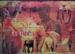 Impressionen aus Afrika (sci-fi-fan) Tags: collage puzzle afrika ravensburger