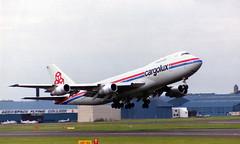Cargolux Boeing 747-271C/SCD LX-BCV Prestwick Airport Ayrshire Scotland (cmax211) Tags: scotland airport 200 boeing 13 runway 747 prestwick cargolux pik ayrshire 271 747200 egpk 747271cscd lxbcv