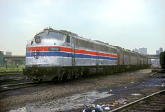 Amtrak E9 418 (Chuck Zeiler) Tags: railroad amtrak locomotive e9 418