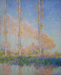 Monet, Poplars, 1891