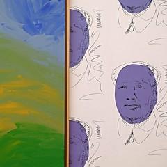 "Maos (Jerzy Durczak (a.k.a."" jurek d."")) Tags: art painting mao warhol"