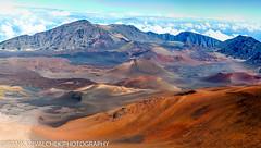 Colorful cinder cones in Haleakala National Park (Alaskan Dude) Tags: travel nature landscape volcano hawaii scenery maui haleakala nationalparks haleakalanationalpark 5photosaday