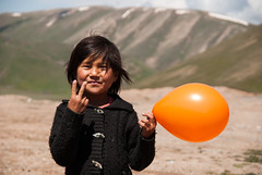 Kyrgyz Girl (Michal Pawelczyk) Tags: trip portrait holiday bike bicycle june nikon asia flickr child aim centralasia pamir wakacje 2015 czerwiec azja d80 pamirhighway azjasrodkowa azjacentralna