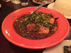 Mission Chinese - Mapo Tofu (heritage pork, aged beef fat, doubanjiang) (willy cheesesteak) Tags: nyc newyorkcity food ny newyork les chinesefood lowereastside chinese mapotofu missionchinesefood missionchinese missionchinesenewyork missionchineseny