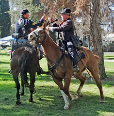 Civil War, Cavalry Charge 2-16a (inkknife_2000 (6 million views +)) Tags: horses 1800s civilwar swordfight abrahamlincoln americanhistory historicalreenactment periodcostume uscavalry periodactors dgrahamphoto battleonhorses