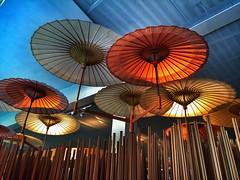 Expo, padiglione Cina (ValerioPh) Tags: italy milan architecture italia expo milano umbrellas cina fiera 2015 ombrelli