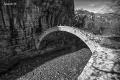 Lazarides (kzappaster (every now and then)) Tags: bridge bw sony greece vivitar a7 stonebridge 19mm epirus zagori mirrorless vivitar19mmf38 19mmf38 sonya7 compactsystemcamera
