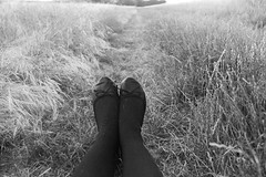 My feet (laetitia.rouvel) Tags: feet way champs pieds chemin