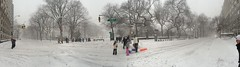 Fifth Avenue & 72nd Street, Blizzard Jonas (Emily V Driscoll) Tags: park nyc winter panorama manhattan side central east uptown upper madison third avenue blizzard fifth